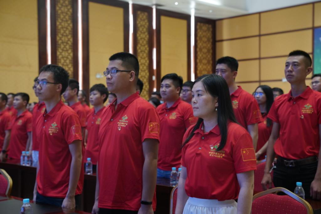 从党史中汲取前进力量!扬翔开展系列党史学习教育活动